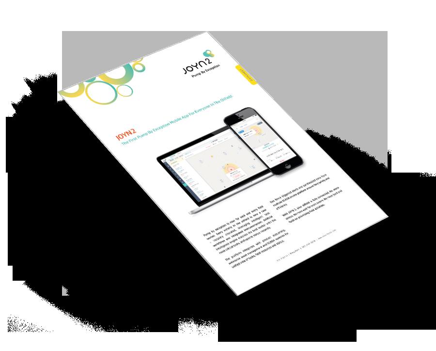 JOYN 2  – Pump by Exception Datasheet