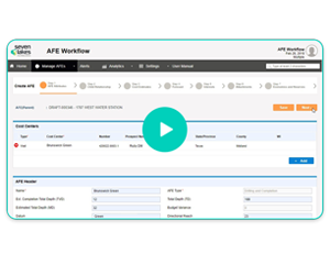 AFE Workflow Demo Video