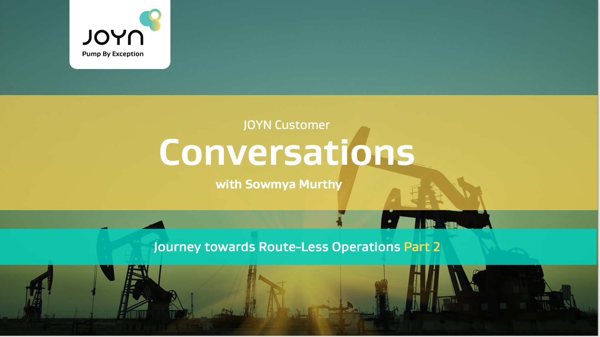 Journey towards Route-Less Operations - Part 2