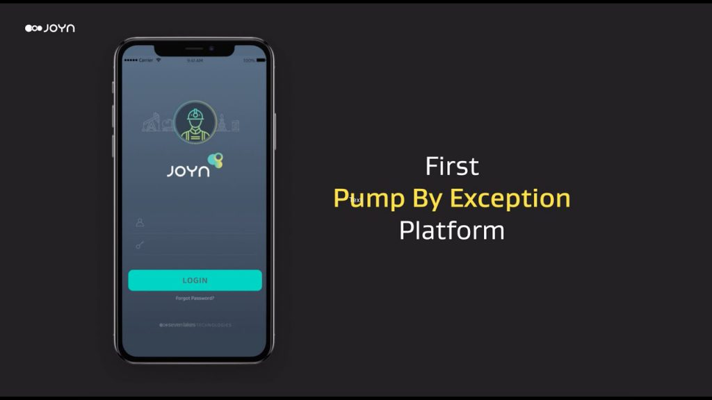 JOYN Journey | Pump by Exception | Designed to Save Time Spent In Oil Fields
