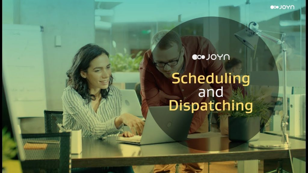 JOYN Scheduling and Dispatching Demo