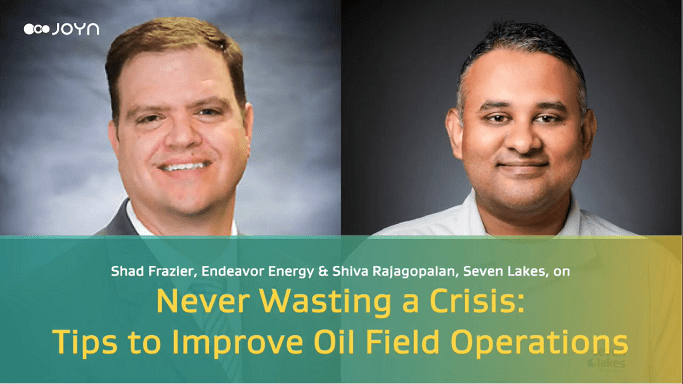 Tips to improve oilfield operations