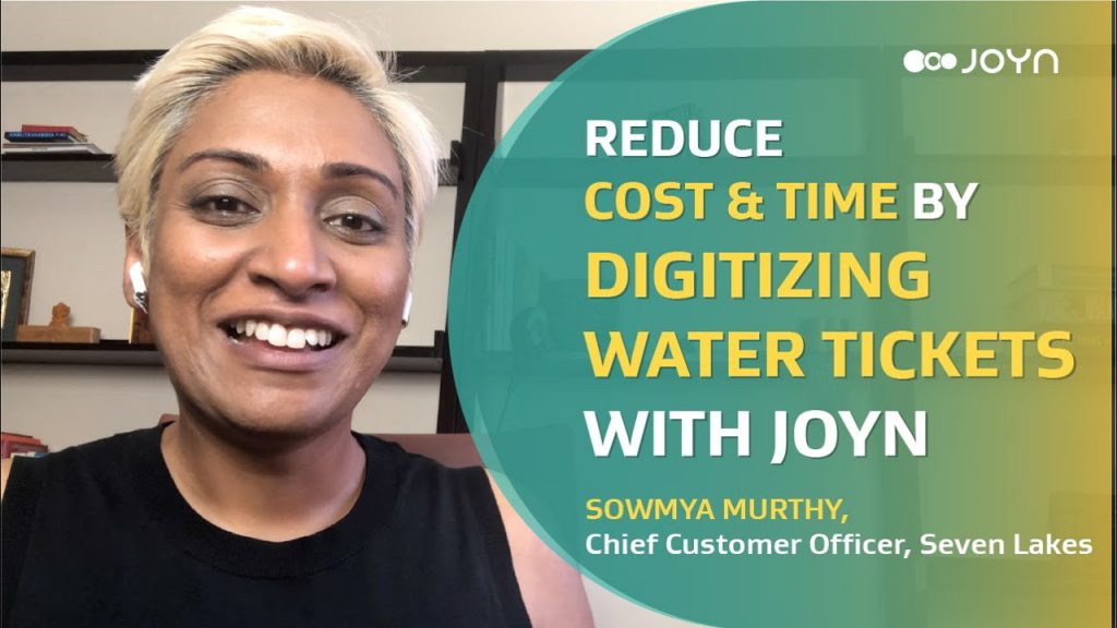 Reduce Cost and Time by Digitizing Water Tickets w/ JOYN