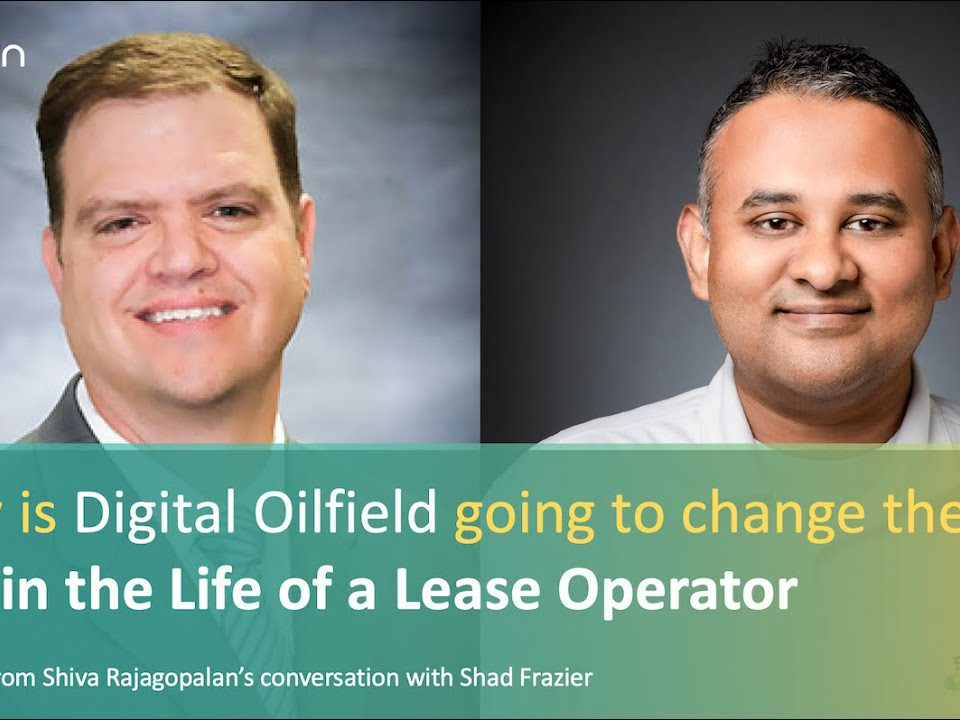 Here Shiva and Shad share their thoughts on how the day in the life of an oil field worker or lease operator