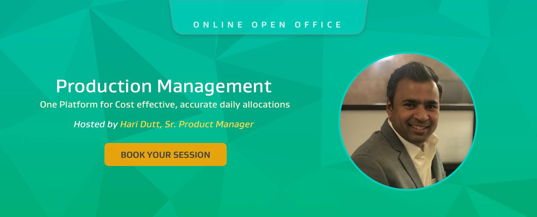 open office - production management