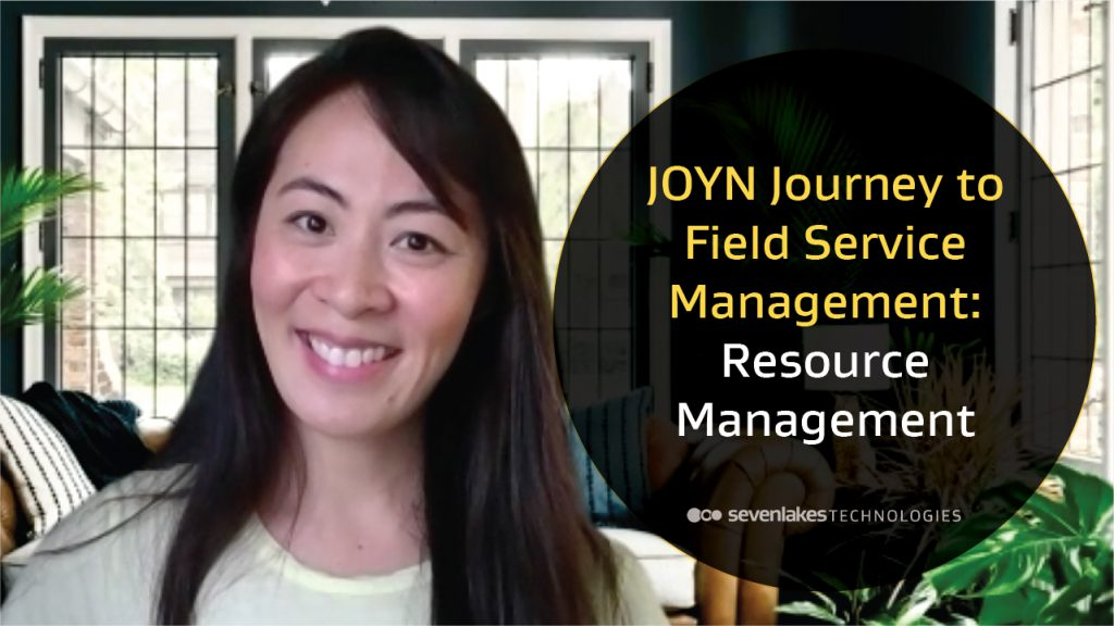 JOYN Journey to Field Service Management – Resource Management