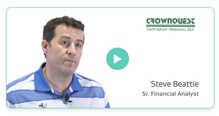 Steve Beattie, Sr. Financial Analyst