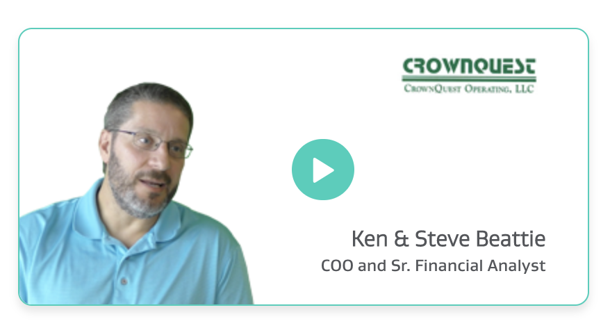 Ken & Steve Beattie, COO and Sr. Financial Analyst